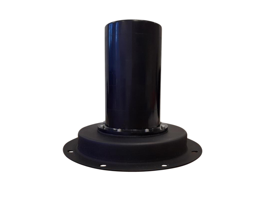 High Power Omnidirectional Wideband Jammer Antenna (Vehicle and Fixed-Site)